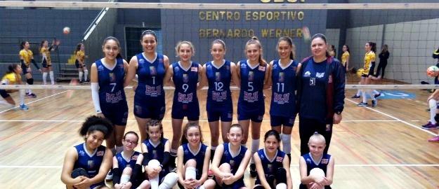No ultimo sábado (26 08) foi realizada em Blumenau a IIIª Etapa da Liga  Catarinense de Voleibol Iniciante. Com uma bela participação a5bf7626906e6