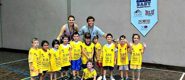 e7730b07e7 O projeto de extensão Baby Basquetebol FURB realizou no último sábado (dia  05) a festa de encerramento do ano do projeto